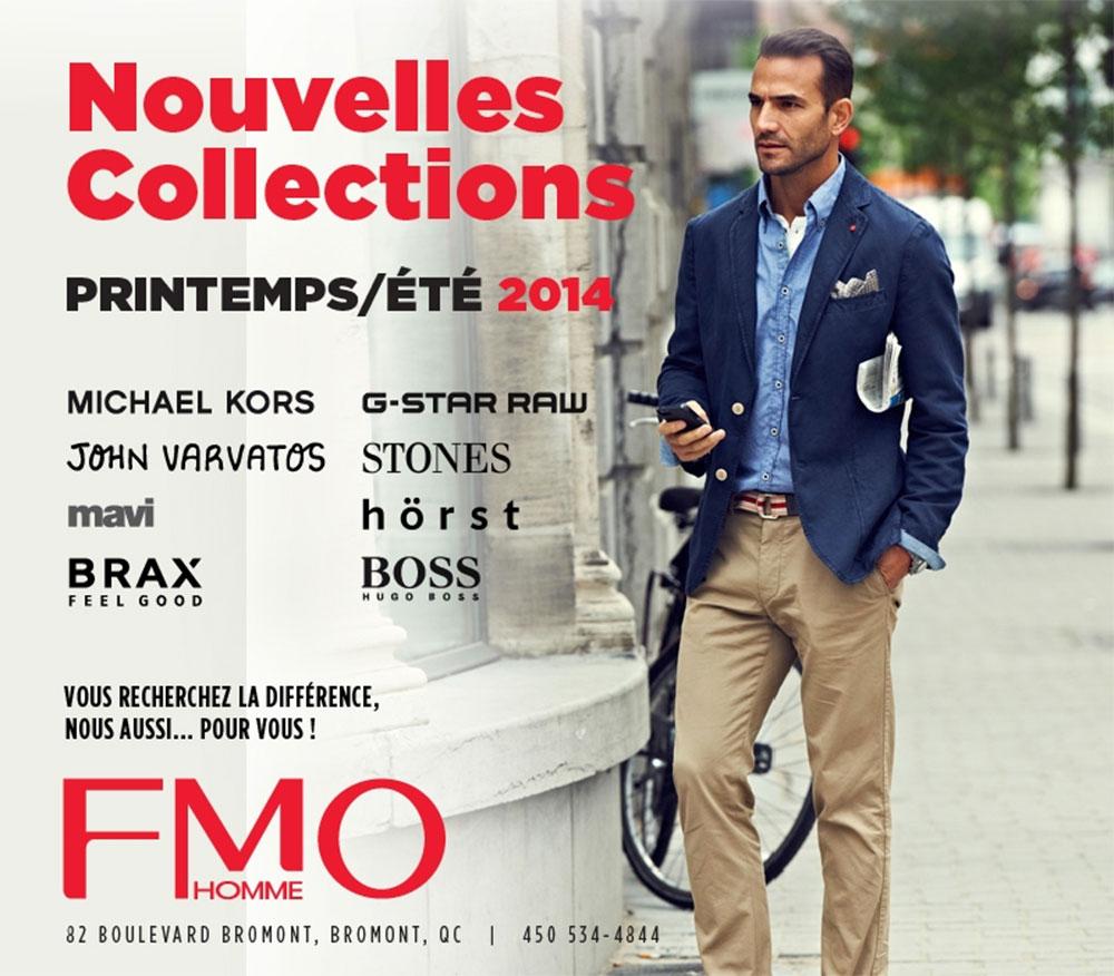 Nouvelles collections – Printemps/Été 2014